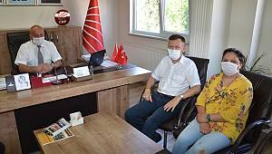 CHP Genel Başkan Aday Adayı Atıcı'dan CHP'ye Ziyaret