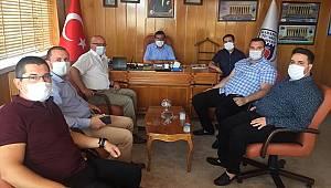 CHP Heyetinden Ticaret Borsasına Ziyaret