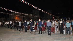 Ermenek'te 15 Temmuz Demokrasi ve Milli Birlik Günü Programı Düzenlendi