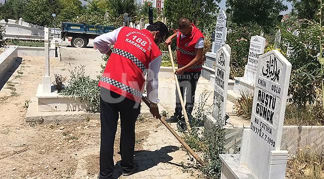 Karaman Belediyesi Bayrama Hazır