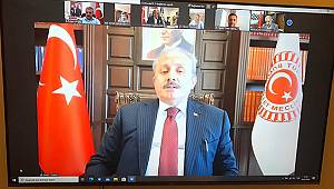 Karaman Belediyespor'a bir destekte TBMM Başkanı Şentop'tan geldi