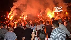 Karaman Belediyespor'un 3. lige çıkması coşkuyla kutlandı