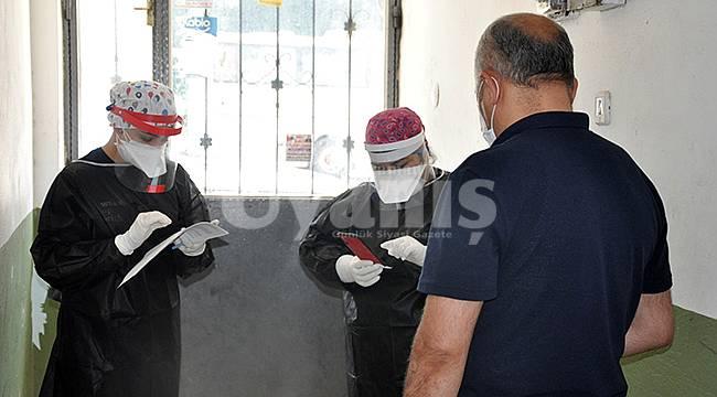 Karaman'da 2 Bin 133 Kişiye Covid-19 taraması yapıldı