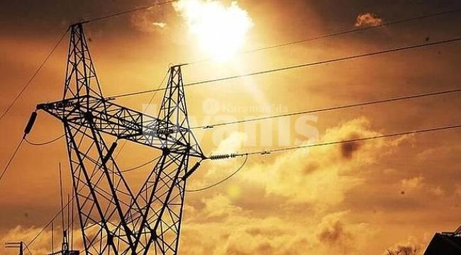 Karaman'da 9 Mahallede Elektrik Kesintisi Yapılacak