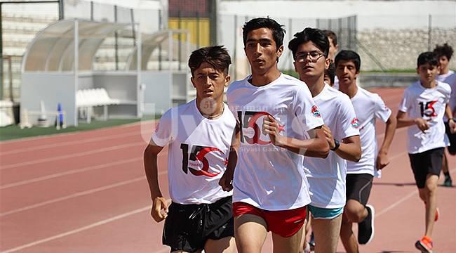 Karaman'da Atletler 15 Temmuz Şehitleri İçin Koştu