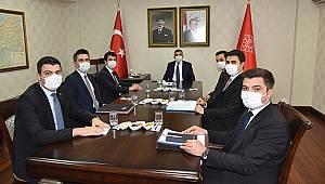 Karaman'da Kaymakamlar Toplantısı Yapıldı