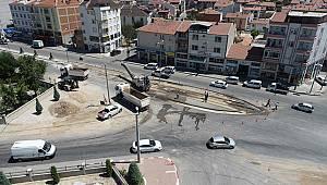 Karaman'da kazaların yaşandığı yola kavşak yapılıyor