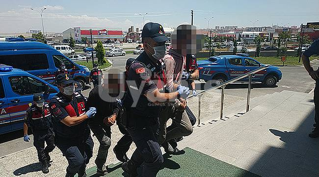 Karaman'da Küçükbaş hayvan hırsızları tutuklandı