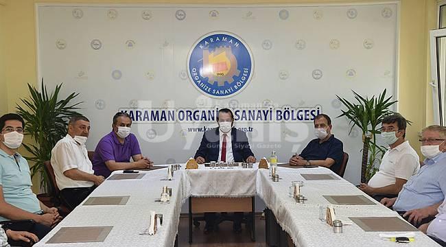 Karaman OSB'de istişare toplantısı