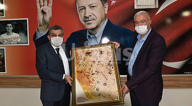 Karaman Valisi Işık, AK Parti'yi ziyaret etti