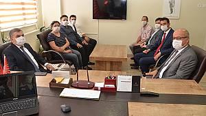 Karaman Valisi Işık'tan CHP'ye ziyaret
