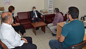 Karaman Valisi Işık'tan gazetemize ziyaret