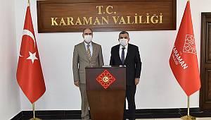 Vali Işık'a Konya Valisi Özkan'dan Hayırlı Olsun Ziyareti
