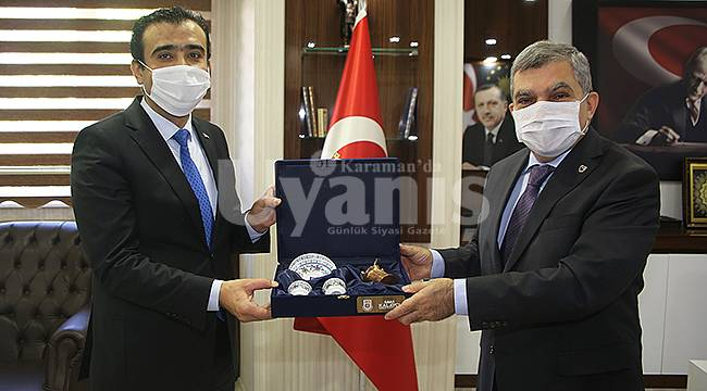 Vali Işık Başkan Kalaycı'yı ziyaret etti