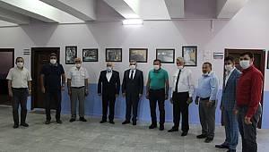 Vali Işık'dan Esnaf Odaları Birliğine Ziyaret
