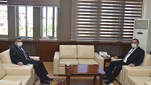 Vali Işık'tan Rektör Akgül'e iade-i ziyaret