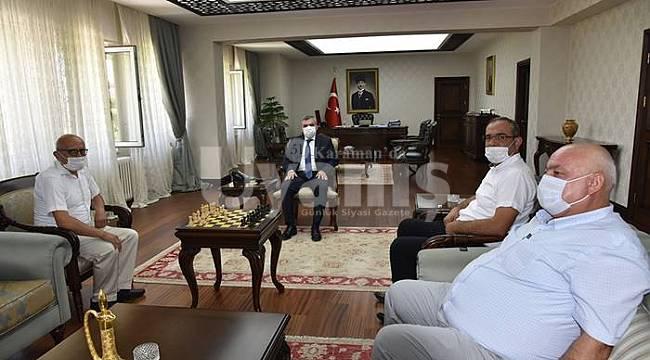 Vali Mehmet Alpaslan Işık'a ziyaretler