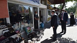 Vali Mehmet Alpaslan Işık Ziyaretlerini Sürdürüyor