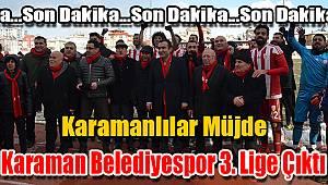 Ve Karaman Belediyespor 3. ligde