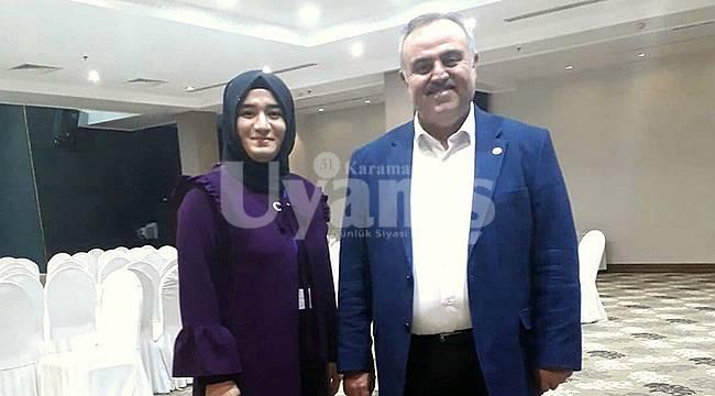 AK Parti Karaman Kadın Kolları Başkanı değişti