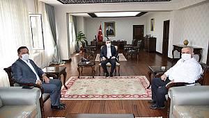 AK Parti Karaman Milletvekillerinden Vali Işık'a nezaket ziyareti
