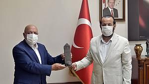 Hak-İş Genel Başkanı Arslan'dan Rektör Akgül'e ziyaret