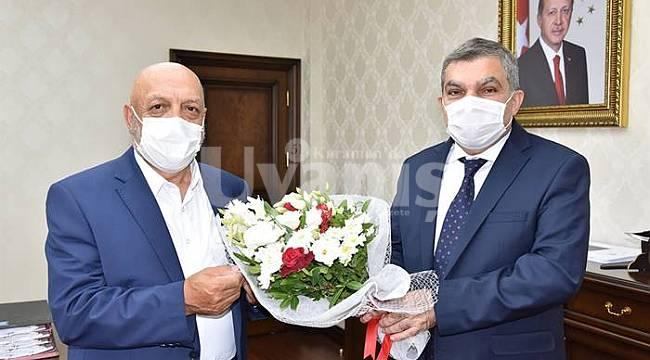Hak-İş Genel Başkanı Arslan'dan Vali Işık'a ziyaret