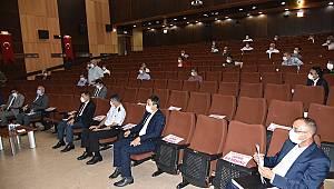İSDEM toplantısı yapıldı