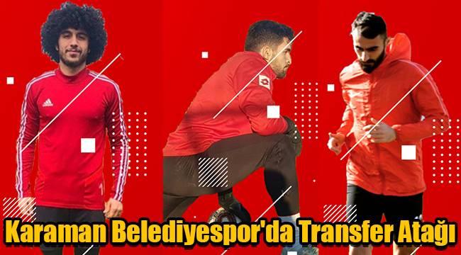 Karaman Belediyespor'da transfer atağı