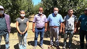 Karaman'da üretici ziyaretleri devam ediyor