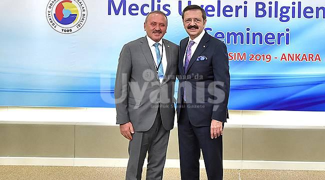 Karaman Ticaret Borsası Meclis Başkanlığı'na Binici seçildi