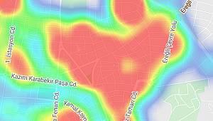 Karaman uyarılara uymayınca koronavirüs risk haritası kıpkırmızı oldu