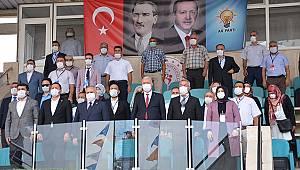 AK Parti'de Tunç'un karşısına Şahin'de adaylığını açıkladı
