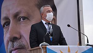 AK Parti Merkez İlçe Başkanı Tunç yeniden Başkan seçildi