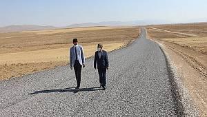 Ayrancı Kaymakamı Çakır'dan yol incelemesi