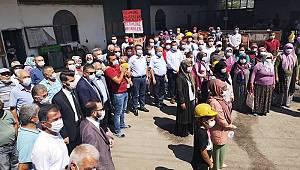 CHP Genel Başkan Yardımcısı Ağbaba Ermenekli madencileri ziyaret etti