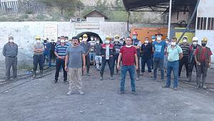 Ermenek'te maden işçilerinin grevi sürüyor