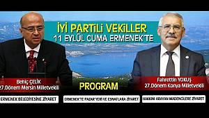 İyi Parti Milletvekilleri Ermenek'e geliyor