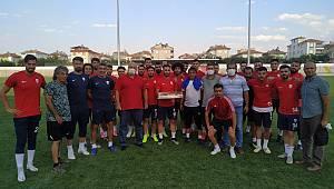 Karaman ASKF'den Belediyespor'a ziyaret