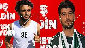 Karaman Belediyespor iki oyuncuyu renklerine bağladı