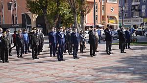 Karaman'da 19 Eylül Gaziler Günü Törenle kutlandı