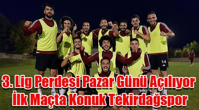 Karaman'da 3. lig perdesi Pazar günü açılıyor, ilk maçta konuk Tekirdağspor