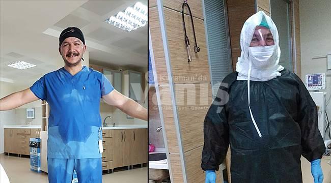 Karaman'da 5 bin 391 hasta kovid-19'dan taburcu edildi