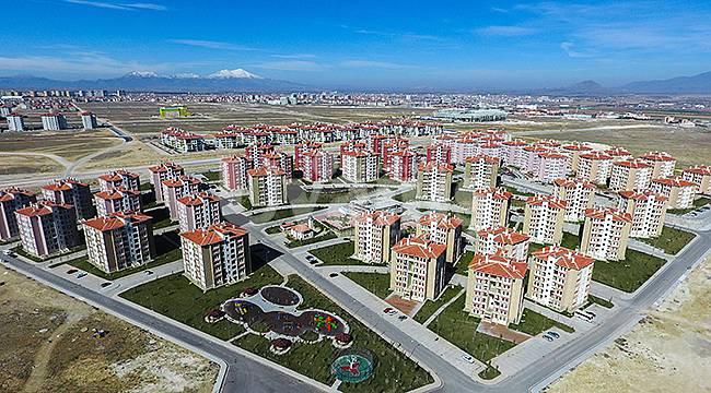 Karaman'da Ağustos ayında 415 konut satıldı