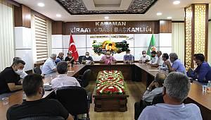 Karaman'da pancar üreticilerinin sorunları masaya yatırıldı