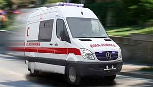 Karaman'da tarım aracı devrildi: 1 ölü, 2 yaralı