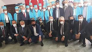 Karaman'da yılın ahileri törenle kaftan giydi