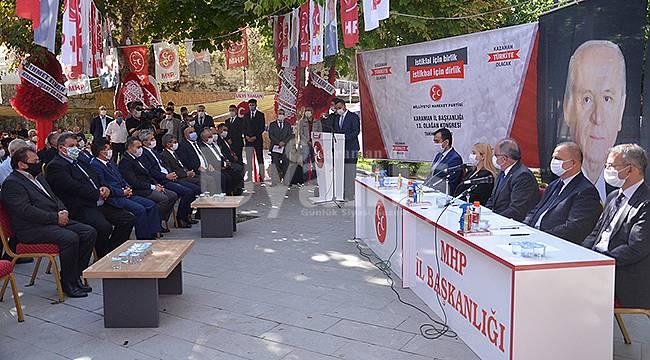 MHP Karaman İl Başkanı Ünüvar güven tazeledi