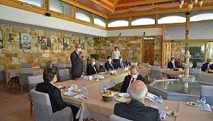 Rektör Akgül, UNİKOP Üst Kurul Toplantısına Katıldı