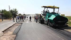Sudurağı'nda sıcak asfalt çalışmaları başladı